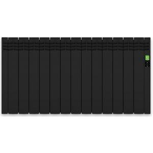 Radiador Rointe D Black 13 Elementos 1430W Digital / Bajo Consumo con WIFI. Ref. DNB1430RAD