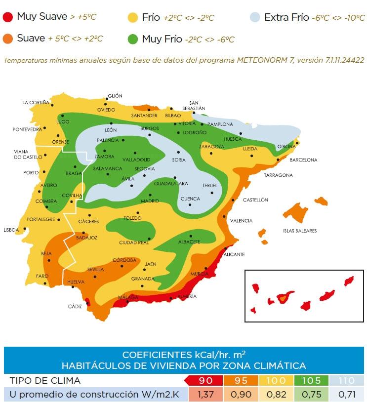 Mapa climático Farho